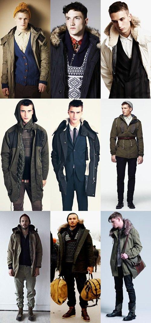 men fashion:Men's Parka Jackets | MEN'S FASHION | Pinterest ...