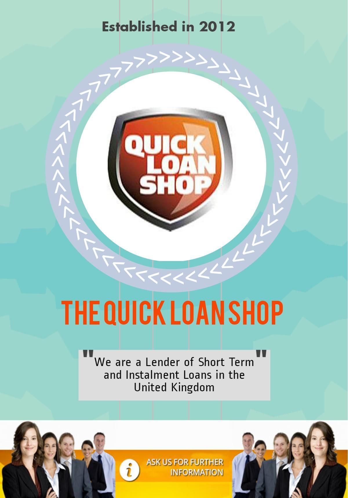 Best Short Term Loans >> The Quick Loan Shop Is The Best Shorttermloans Provider In Uk
