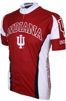 Indiana University Bloomington Bookstore - Adrenaline Short Sleeve Cycling Jersey