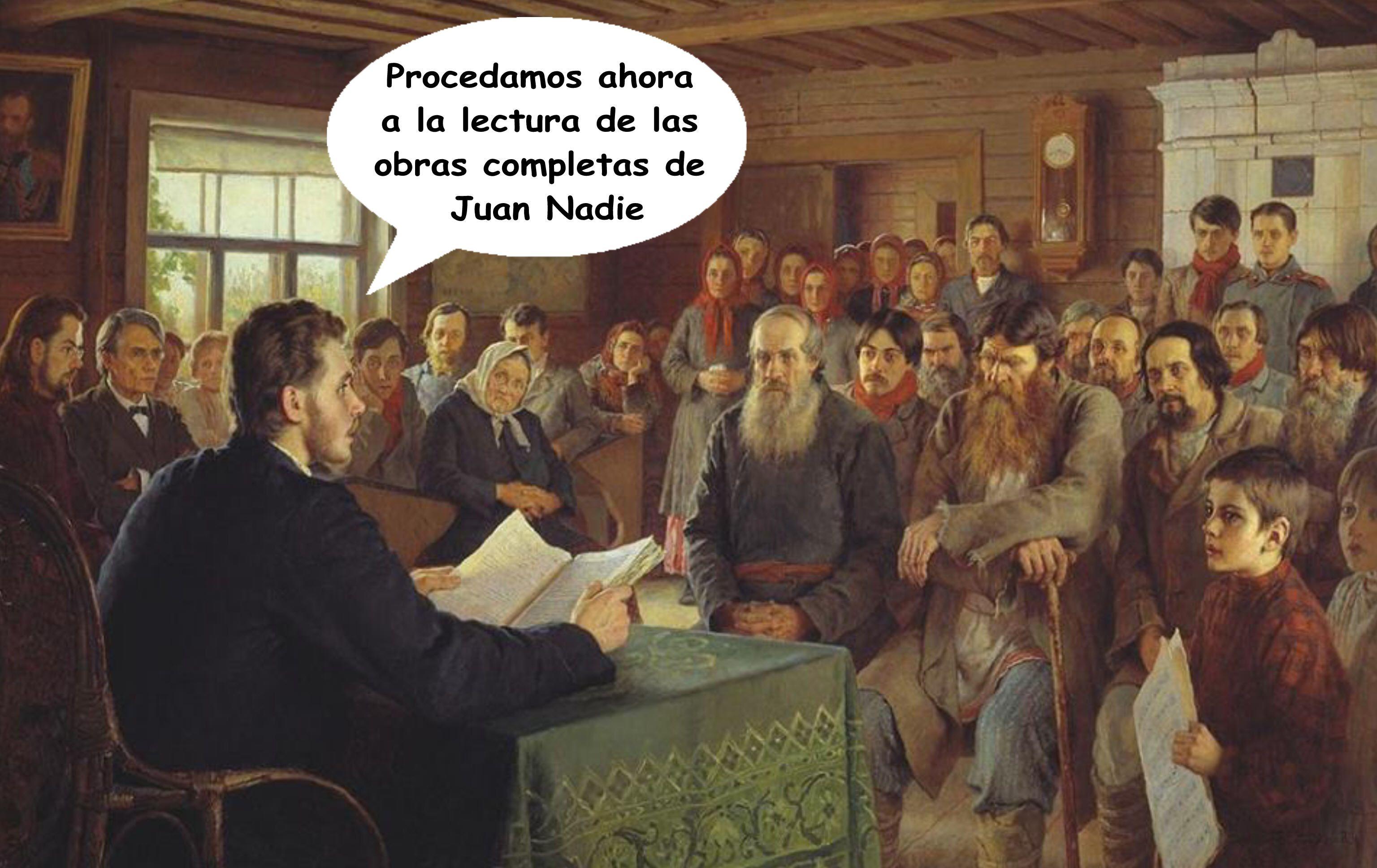 Relatos y novelas de Juan Nadie.  http://relatosdejuannadie.blogspot.com.es