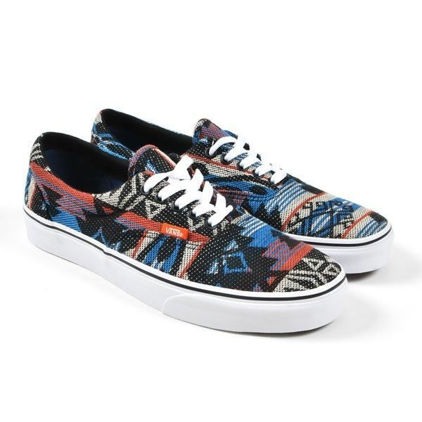 9a463a3793 VANS ERA Aztec Inca Blue Geo Guate Tribal authentic Mens 9 33.99