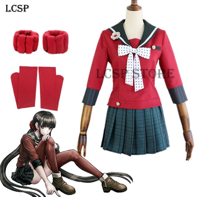 Charlotte Nao Tomori Women Girls School Uniform Red Lovely Coat Skirt Anime Cosplay Costume For Halloween Party Anime Costumes