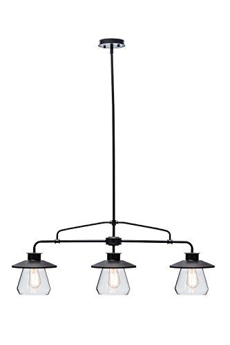 Globe Electric 3 Light Vintage Pendant Oil Rubbed Bronze Https