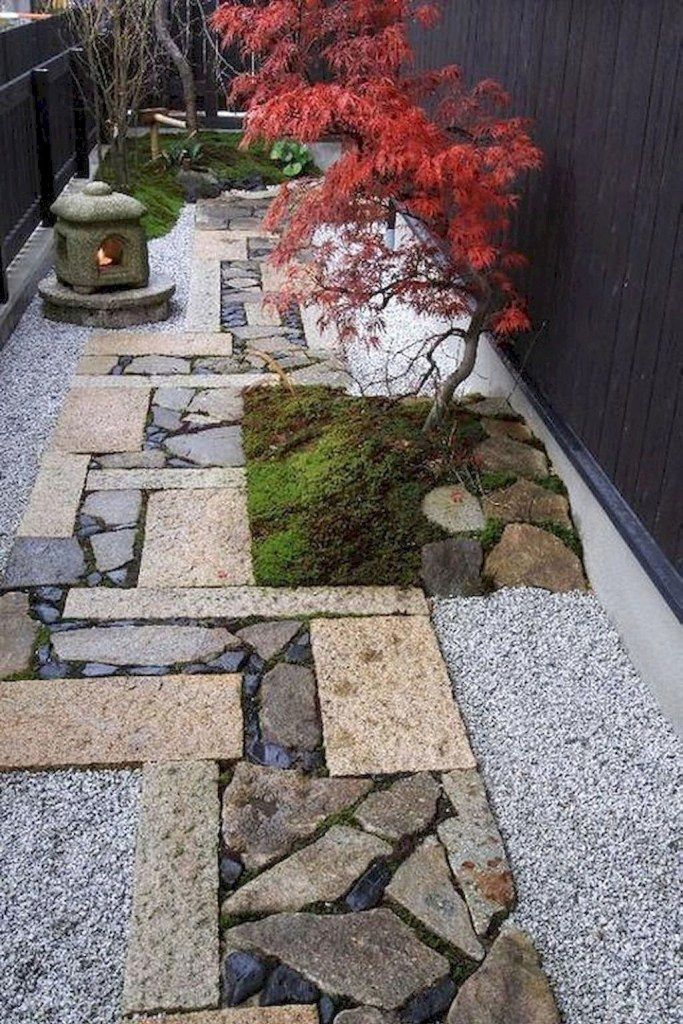 Photo of 90 Best Side House Garden Landscaping Decoration Ideas With Rocks (94) – Home/De…