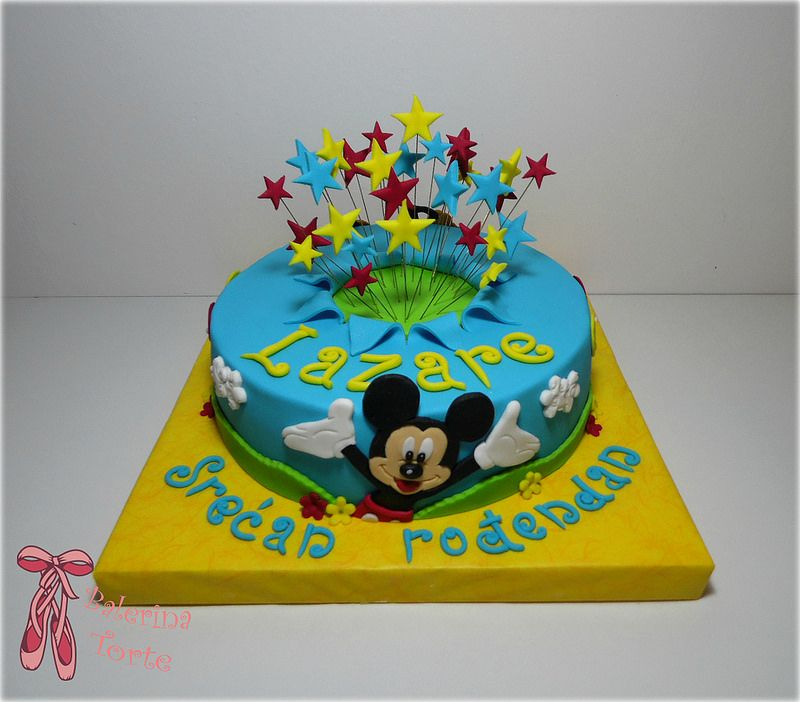 mickey mouse cake miki maus torta by balerina torte jagodina tolle torten kuchen und torten. Black Bedroom Furniture Sets. Home Design Ideas