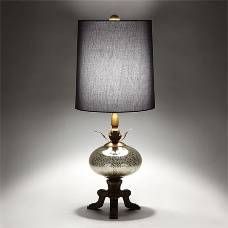Isabella Gold Table Lamp | Teal table lamps, Gold table ...