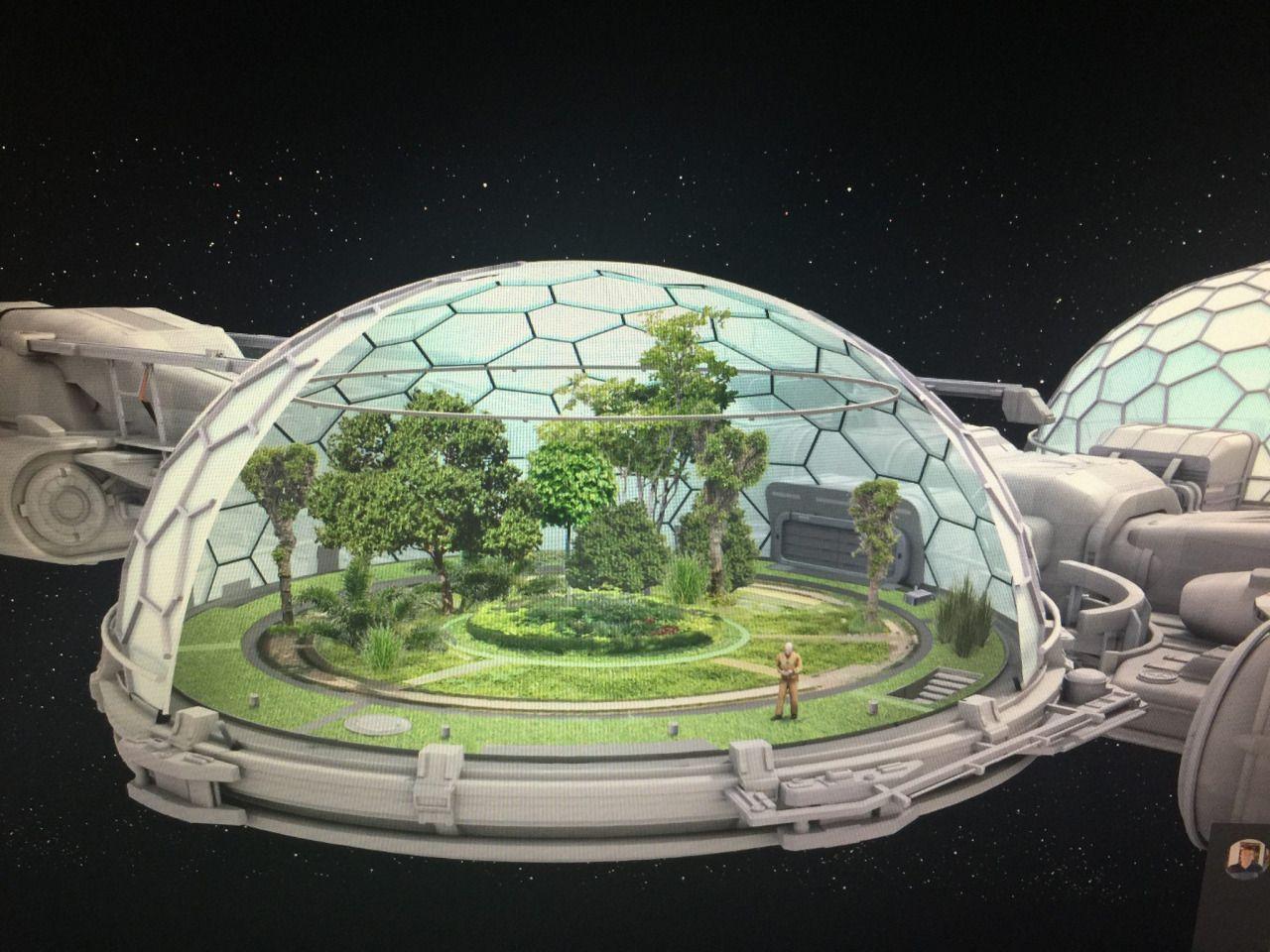 future moon base interior designs