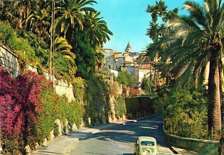 Via Romana, Bordighera, Italy (1967)