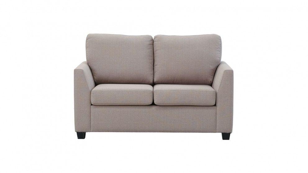 Concord King Single Fabric Sofa Bed Sofa Beds Harvey Norman