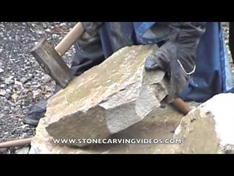 Trow And Holden Mason S Chipper Youtube Solar Panel Manufacturers Stone Masonry Exterior Stone