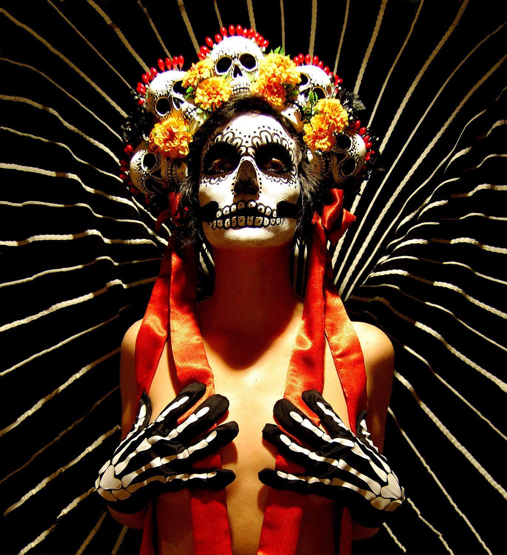 Day of the Dead Headdress