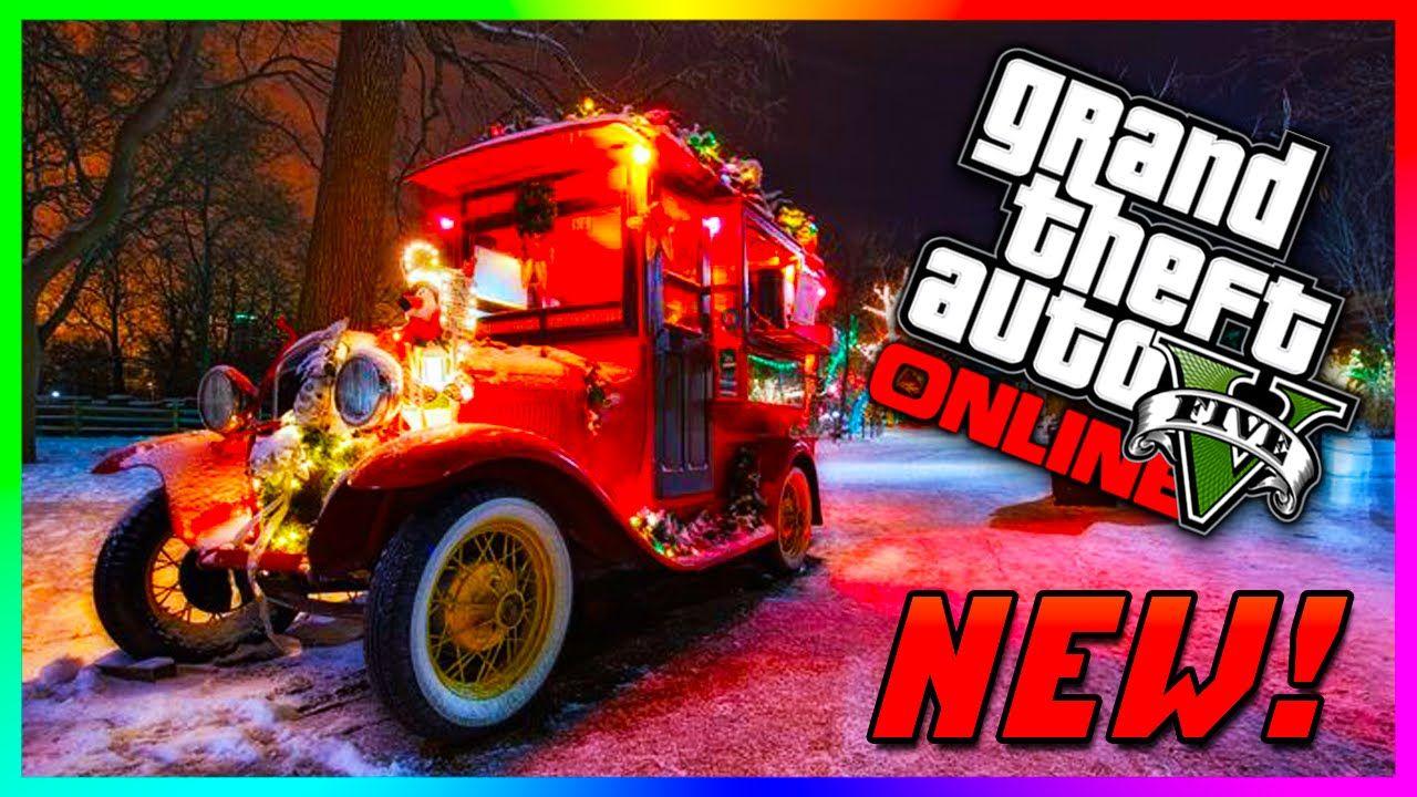 Gta 5 Christmas.Gta 5 Online Holiday Dlc Details Christmas Car