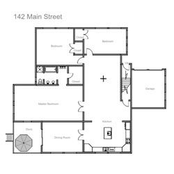 Easy To Use Floor Plan Drawing Software Floor Plan Drawing