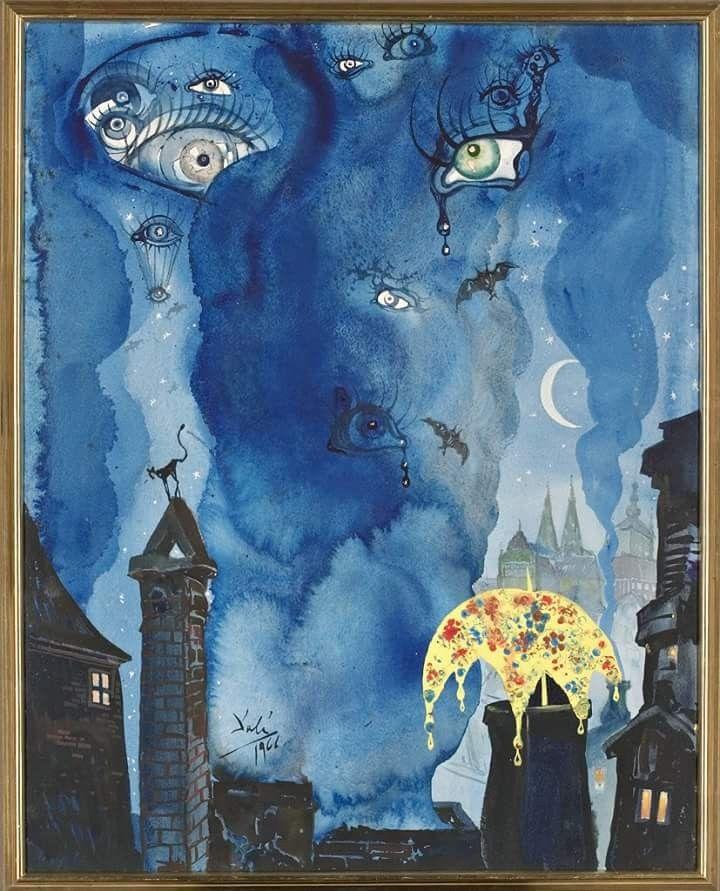 Salvador Dali The Sandman 1966 In 2019 Dali Paintings