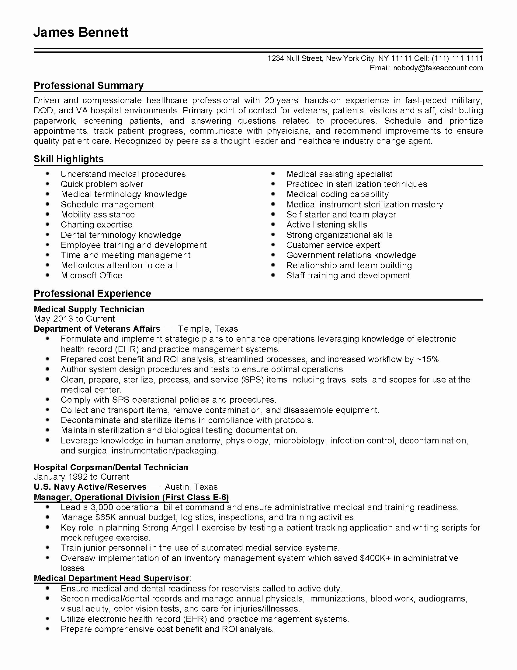 Resume Objectives For Healthcare Lovely Professional Military Healthcare Administrator Templates To Showc Resume Examples Resume Objective Job Interview Advice