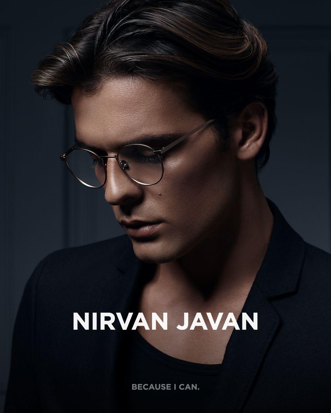 NIRVAN JAVAN - EYEWEAR #NIRVANJAVAN #EYEWEAR #GLASSES #