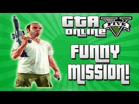 GTA 5 Missions: Funny Failed Mission! (GTA V Online) - http://goo.gl/T0ETMC