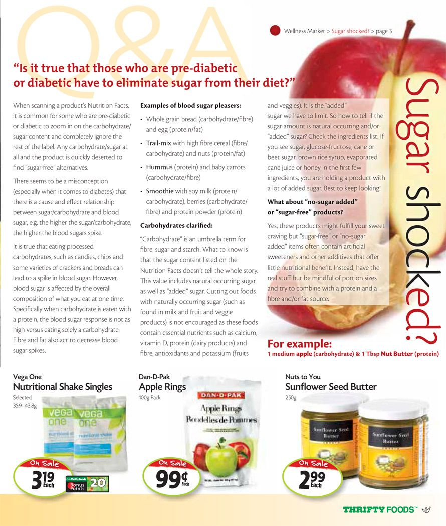 Thrifty Foods Interactive Flyer to Wellness