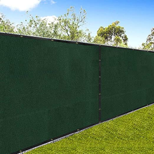 Green Mesh For Chain Link Fence Amazon Com Amagabeli 5 8 X50 Fence Privacy Screen Heavy Duty For 6 X In 2020 Chain Link Fence Chain Link Fence Privacy Fence Fabric