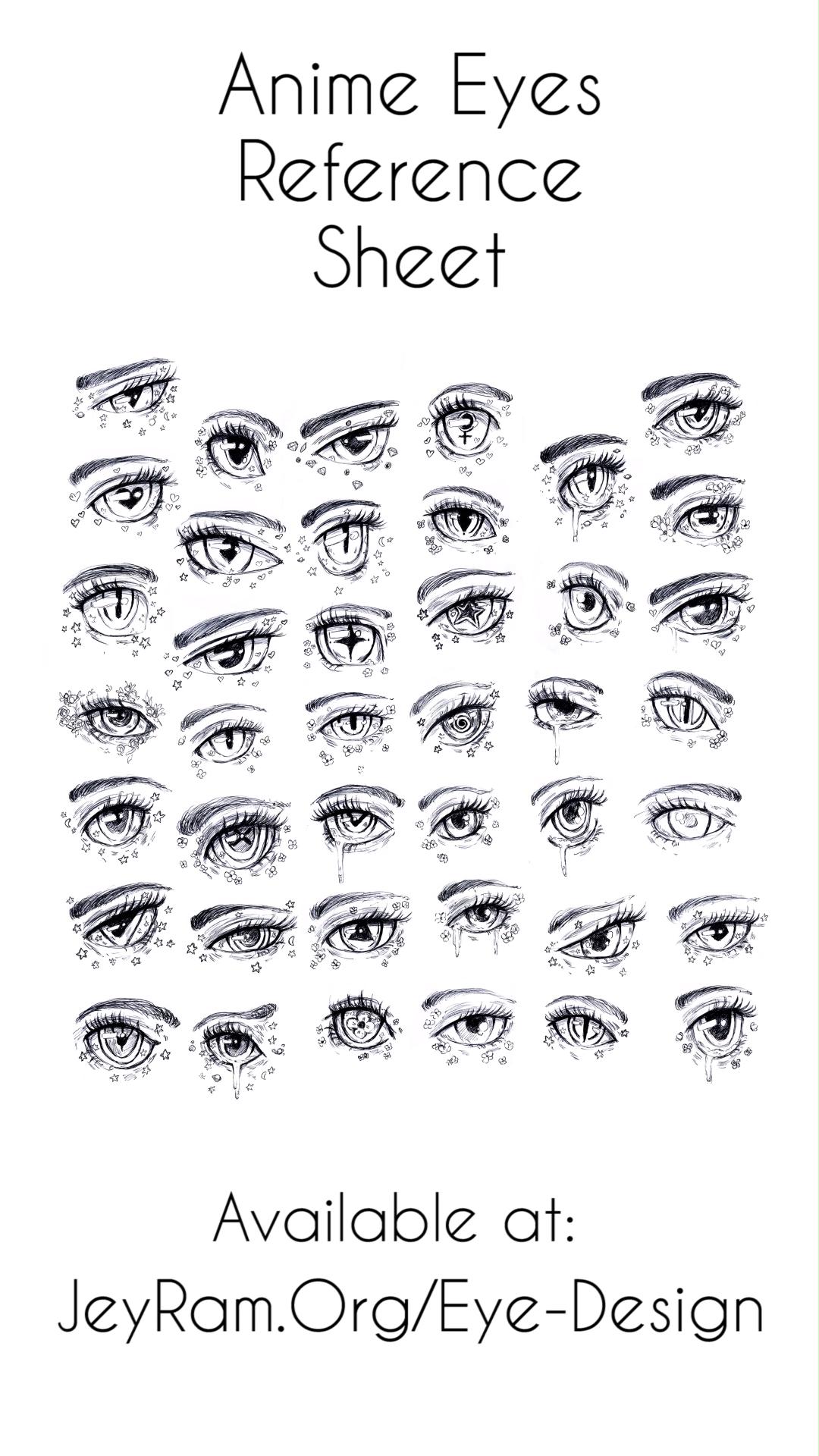, Anime Eye Drawing Reference, My cartoon Blog, My cartoon Blog