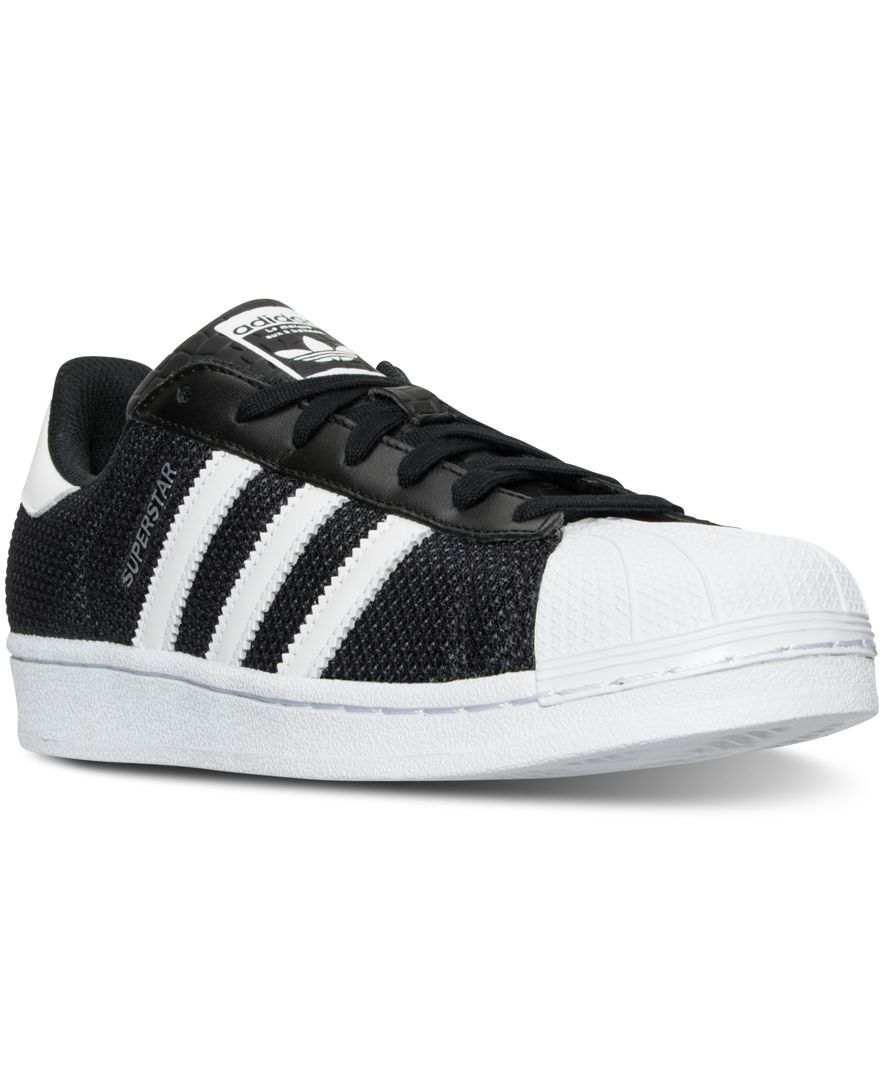 15904628d adidas Men s Superstar Circular Knit Casual Shoes from Finish Line ...