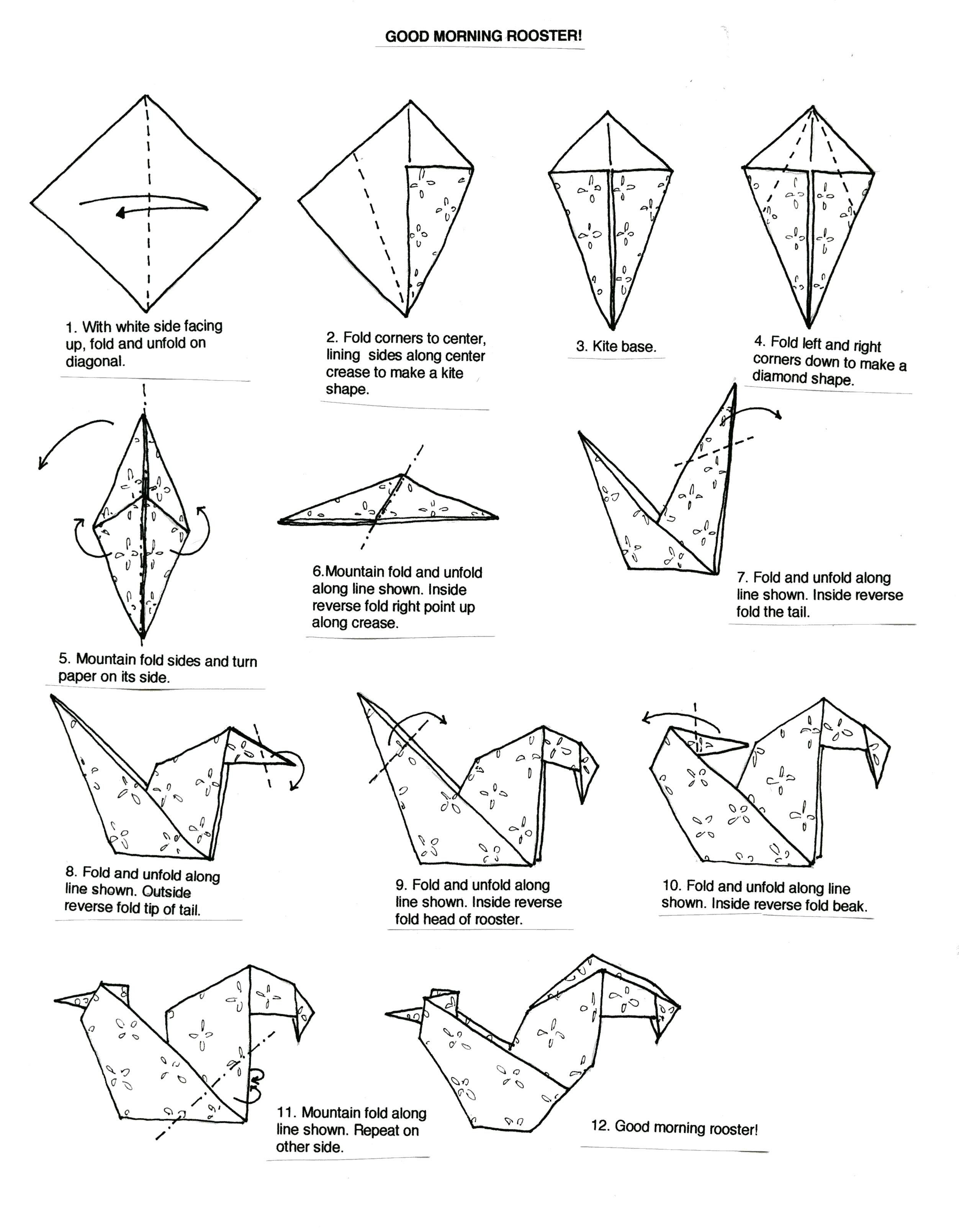 Origami Instructions Carft Pinterest Videos Search And Tutorials Animals Dachshund Paper Folding Diagram