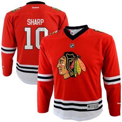 a7a40575c29 Reebok Patrick Sharp Chicago Blackhawks Toddler Replica Player Jersey - Red