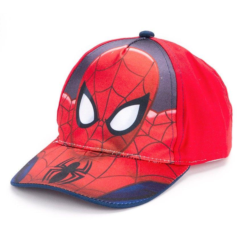 Gorras para Niños - De Spiderman para tus pequeños lanzadores de telarañas 1c456dc5ccb