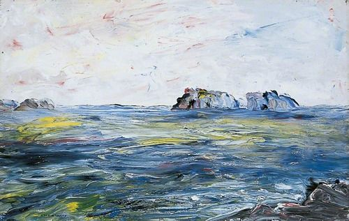 Jack Butler Yeats - Off the Irish Coast (1942)