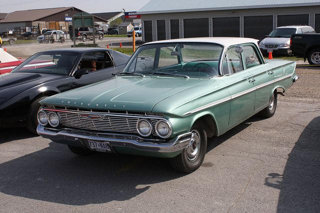 1961 Chevrolet Bel Air 4 Door Chevrolet Chevy Bel Air Chevrolet Bel Air