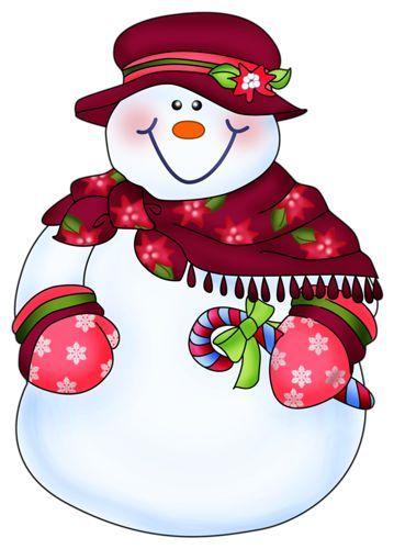 snowman snow and clip art rh pinterest com snowman christmas tree clipart cute christmas snowman clipart