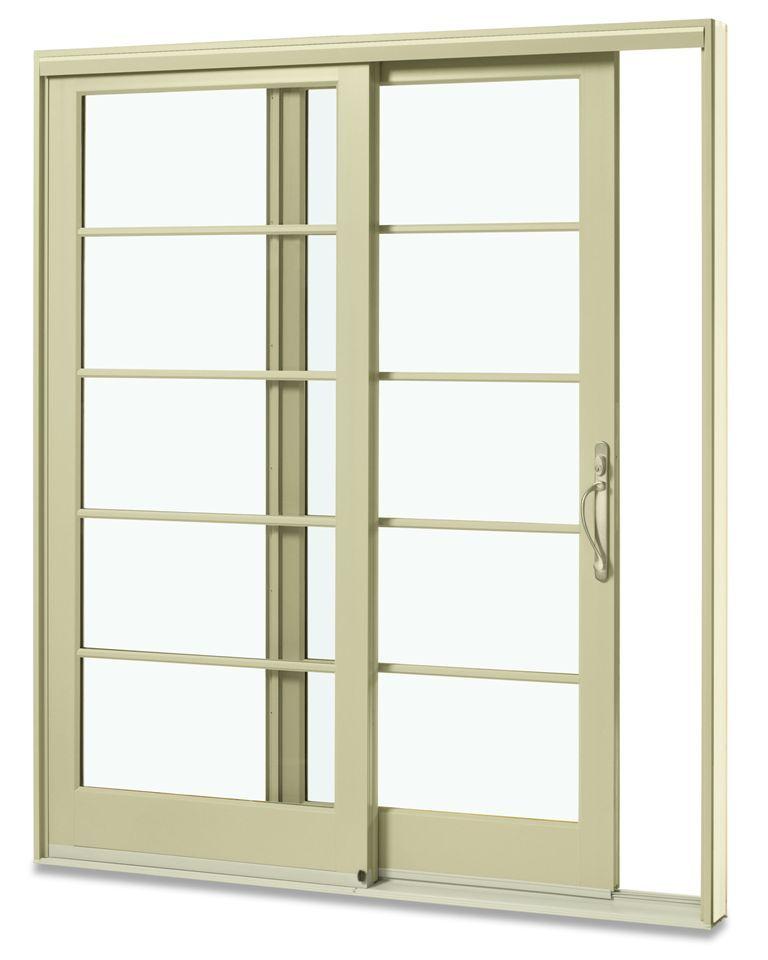 All fiberglass sliding patio door with custom horizontal for Custom patio doors