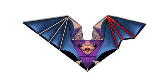 Origami n' Stuff 4 Kids: Vampire Bat Origami