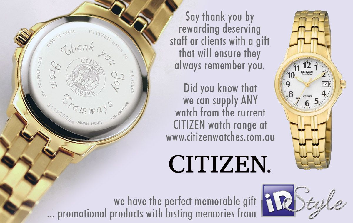 We Have Another Eco Drive Citizen Watch Engraved And Ready