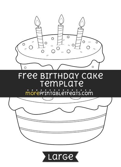 picture relating to Birthday Cake Template Printable titled No cost Birthday Cake Template - High Designs and Templates