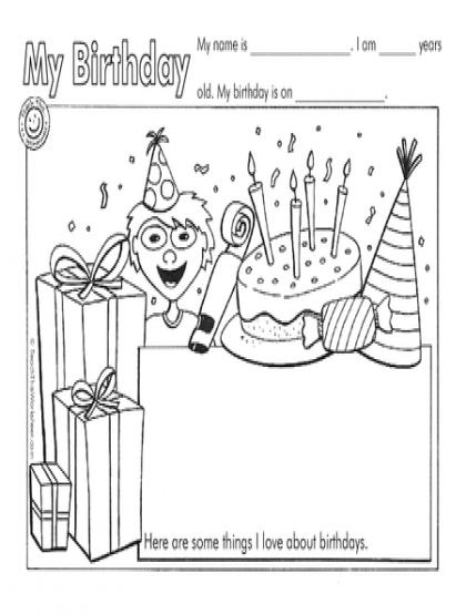 height554 (420×554) BIRTHDAY printables Pinterest