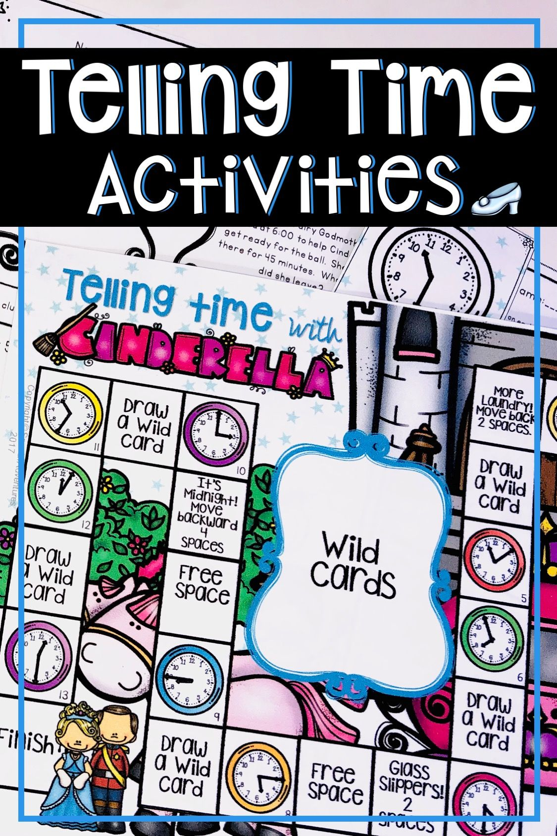 Telling Time Activities And Worksheets