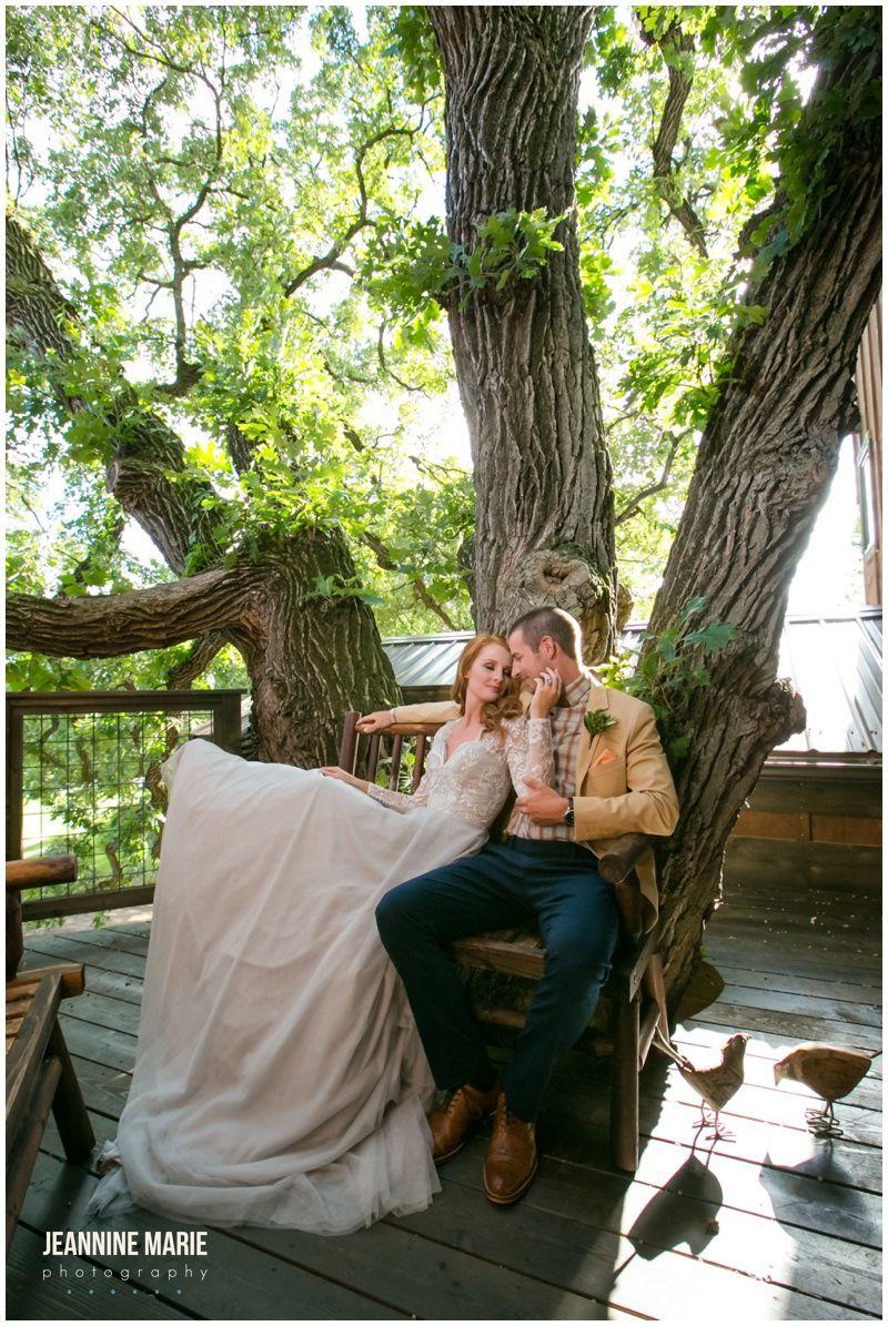 Hope Glen Farm Enchanted Tree House, Minnesota Wedding ...