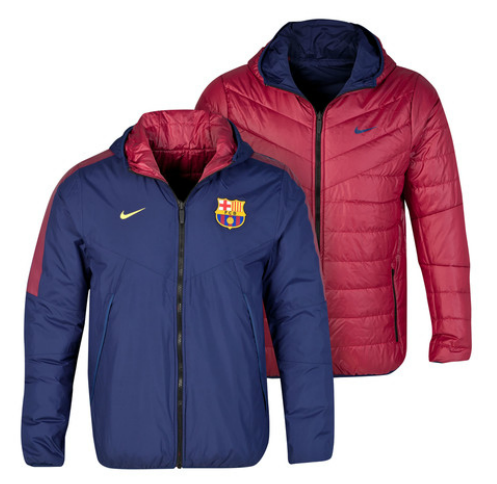 f81c50cfa343 BARCELONA CORE PADDED JACKET FC Barcelona Official Merchandise Available at  www.itsmatchday.com