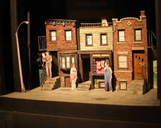 avenue q set design by anna louizos i hate to admit it but i really enjoyed avenue q