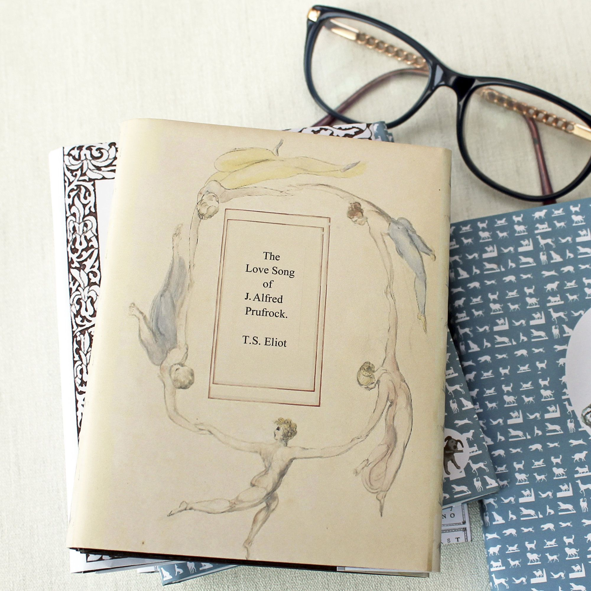 The Love Song of Alfred Prufrock handmade artist book ...
