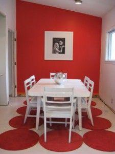 Un comedor rojo pasión | Ideas de cambios | Home Decor, Dining room ...