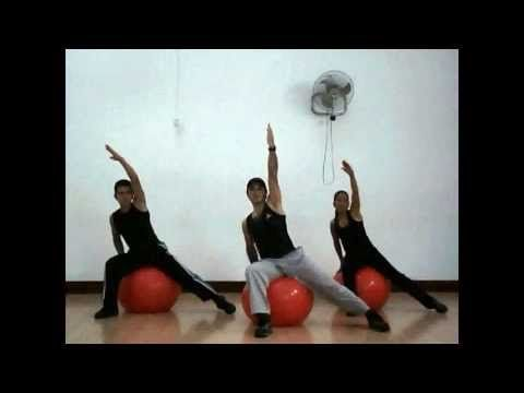 Cardio Fit Ball 02 - YouTube