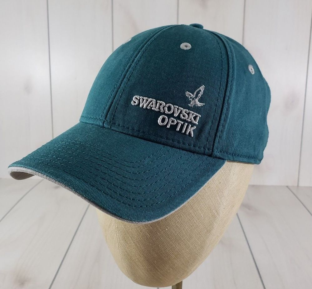 986ef706b71 The Game SWAROVSKI OPTIK Logo Hat Cap Adjustable Pine One Size H12 MINT   fashion  clothing  shoes  accessories  mensaccessories  hats (ebay link)