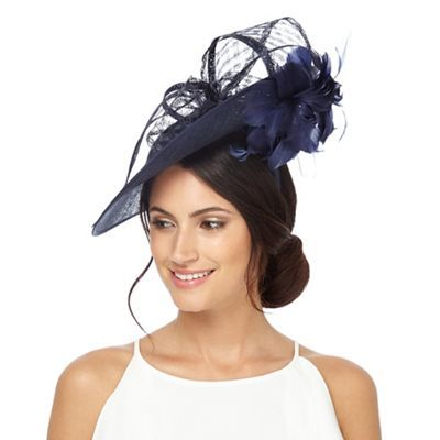Principles by Ben de Lisi Navy bow fascinator  b7f0e99d1f9