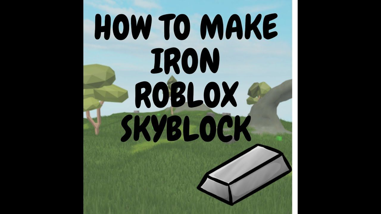 How To Get Crystallized Iron In Roblox Skyblock Faster