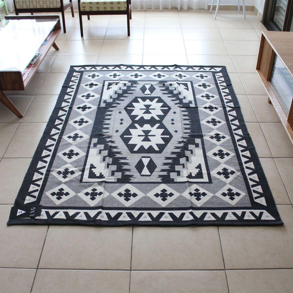 שטיח חדש בסגנון קילים שטיח גאומטרי שטיח אתני מודרני
