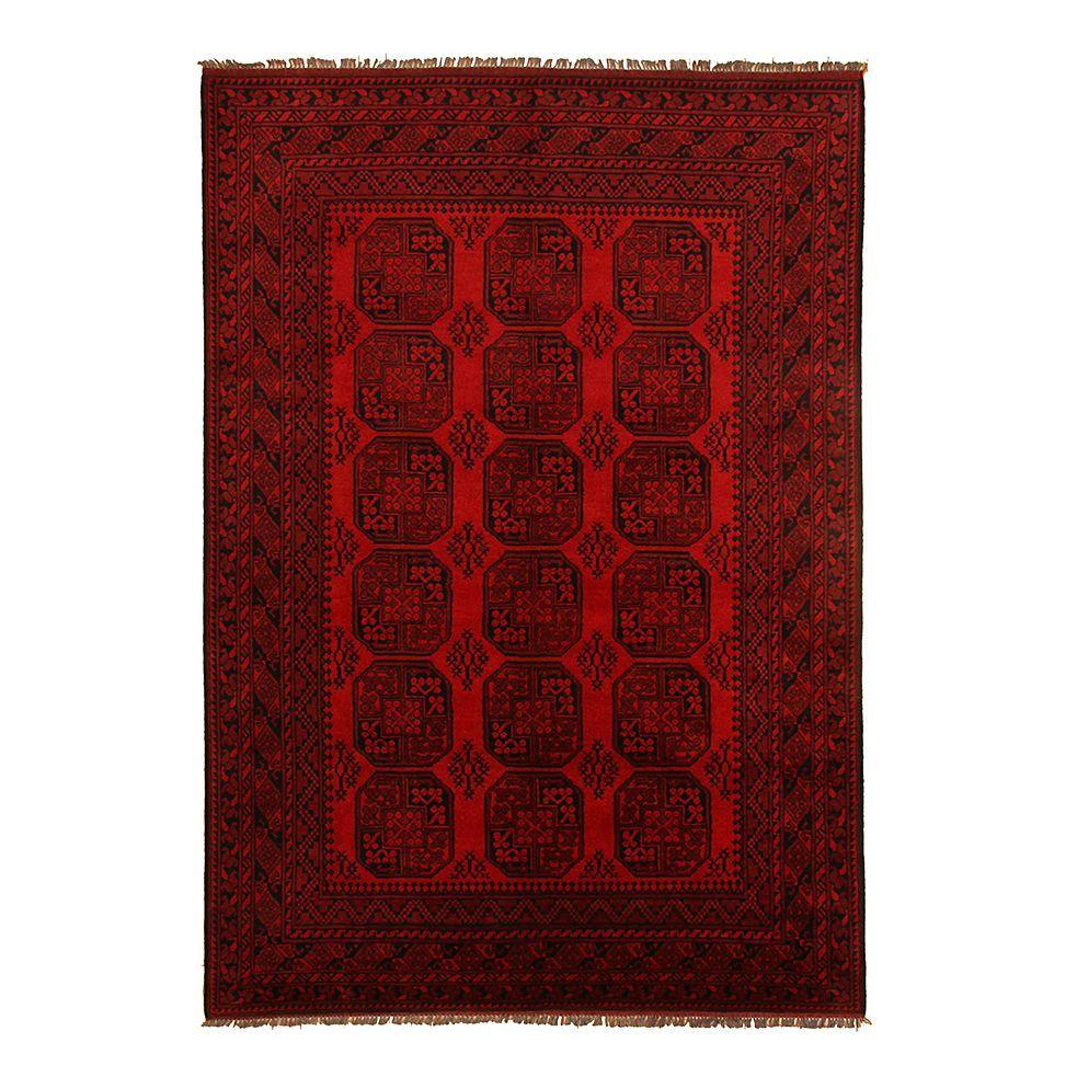 Teppich Afghan Aktsche Rot 80 X 300 Cm Parwis Jetzt Bestellen