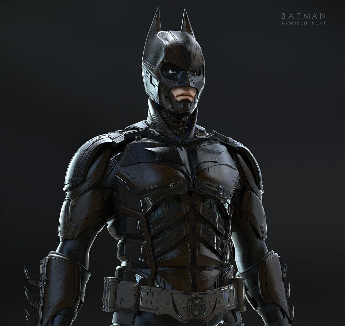 """Batman Suit: The Dark Knight Armored Suit (""""Injustice"""" Version). Based"""