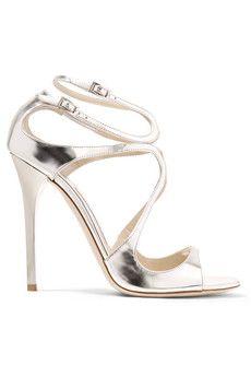 Beauty Metallic Leather Sandals n2crQj